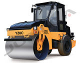 O Ce certificou a fábrica Vibratory do rolo de estrada de 6 toneladas (YZ6C)