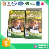 Bolso degradable de la basura del perro con la impresión