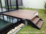 Paseo Jardín WPC cubierta de piso impermeable al aire libre con el CE