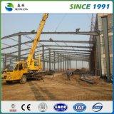 2017中国の新しいプレハブの鉄骨構造の倉庫の研修会の建物