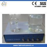Agitateur magnétique de laboratoire magnétique d'agitateur de quatre rangées SH