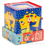 Personnalisé Lovely Cartoon Plush Jack in The Box Tin