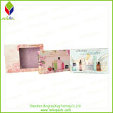 Flor de la impresión colorida de cartón caja de cosméticos de belleza