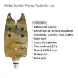 Carpa del circuito de Digitaces que pesca la alarma impermeable de la mordedura de la pesca