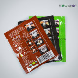 Alumínio Zipper PE Bolsa de plástico para alimentos Nut Snack Tea