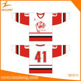 Overhemden van Jerseys van de Kleding van het Hockey Silm van Canada van het team de Goedkope