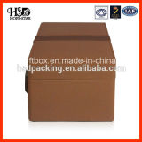 Hotsale lederner Luxuxwein-verpackender Papierkasten
