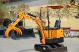 Mini excavador con diesel