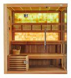 La natura di lusso di prezzi di fabbrica perde la sauna asciutta di svago del peso con giada gialla M-6048