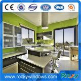 China personalizou o alumínio do projeto e da cor 6063 portas de vidro de deslizamento T5 impermeáveis