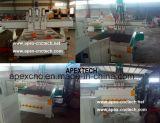 Grabador del CNC del Atc del eje de rotación de la refrigeración por aire de 3 ejes de rotación