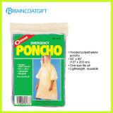 Preiswerter Disposbale PET Regen-Poncho Rpe-028