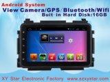 Sistema del Android 6.0 per l'automobile DVD di percorso della Honda Vezel GPS in video dell'automobile per lo schermo di capacità di 8 pollici