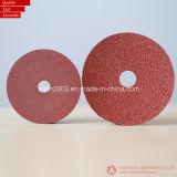 Resin de cerámica Fiber Discs (3M y distribuidor de VSM)