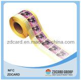 étiquette imprimable de 13.56MHz RFID Nfc avec Ntag203/213