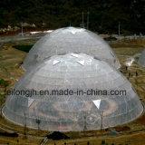 農場及び動物園のためのドームの温室の骨組