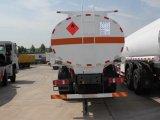 Carro del reaprovisionamiento del carro del depósito de gasolina de Sinotruk HOWO, 6X4 25ton