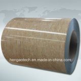 Bobine d'acciaio ricoperte colore del grano del granito e del marmo, PPGL, PPGI