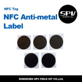 NFC 13.56MHz Waterproof o Tag F08 RFID do Anti-Metal