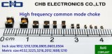 Экстренный выпуск EMI оборудования поверхности стыка USB3.0 высокочастотного дросселя единого режима, 1.2mm*1.0mm*0.9mm (0504), SMT, выключение Frequency~7.5GHz, Impedance=25ohm@100MHz