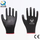 Nylon перчатки работы безопасности нитрила раковины 13G покрынные ладонью (N6002)