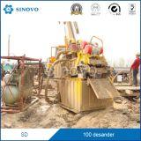 desanding installatie BR-100 van de modder schonere dunne modder desander