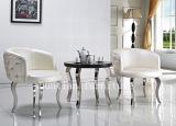 (SX-179)円形PUの革コーヒー椅子