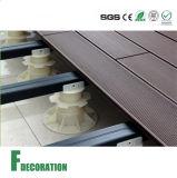 Zócalo ajustable plástico barato para utilizar el suelo al aire libre del Decking