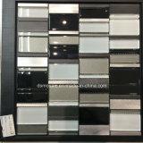 Vetro in bianco e nero di Classicail e mattonelle di mosaico inossidabili