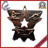Benvenuto alle medaglie su ordinazione del nastro della fabbrica con Finsih antico
