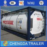 petrolero del envase de ISO del envase del tanque de almacenaje de los 20FT los 40FT LPG para la venta