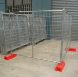 Maschendraht-Zaun, Schutz-Stab-Metallzaun
