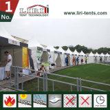 Белый Pagoda 4*4m для мытья автомобиля торговой выставки