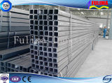 Galvanizado por inmersión en caliente Tubo-plaza de tubos de acero / Plaza de acero soldado (FLM-RM-024)