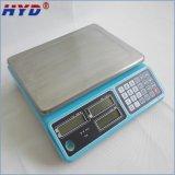 escala electrónica del precio del boutique 3kg-30kg