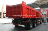 Carro de vaciado pesado caliente del camión del volquete del descargador de Sinotruk 6X4