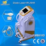 Machine d'épilation de laser Elight 808nm de diode (MB810D)