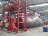 3 Fuwa 차축 45m3 반 트레일러의 대량 시멘트 유조선 트레일러