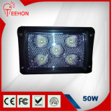 "6 "" 50W CREE quadrato LED Work Light"