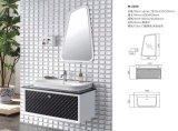 Moderner fester hölzerner Badezimmer-Schrank