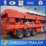 40t de in zakken gedane Aanhangwagen van de Lading van de Zijgevel van het Cement voor Verkoop