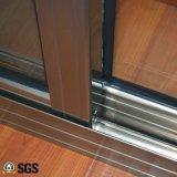 Finestra di alluminio di vetro Tempered di buona qualità, finestra di scivolamento, finestra K01084