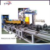 Тип автомат для резки кровати ролика стальной трубы большого диаметра с Ce и аттестацией ISO