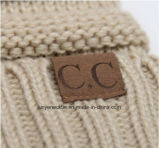 Крышка шерстей Cc новой зимы обозначая модная крышка отдыха напольный теплый шлем