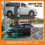 2 columnas 2 soluciones llanas del estacionamiento del coche del recurso de estacionamiento de los automóviles