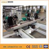 Máquina de solda CNC 4-Corners horizontal da janela de alumínio