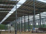 Taller constructivo de la estructura de acero de la construcción