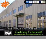 Taller de la estructura de acero del bajo costo de la fuente de la fábrica de Wellcamp