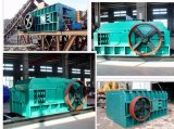 Doppelte Rollenandesit-Steinzerkleinerungsmaschine-Maschine für Verkauf