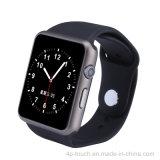 Relógio esperto do sistema Mtk2502 compatível com Ios e Android (GM18S)